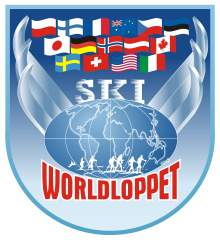 Logo Worldloppet 2008