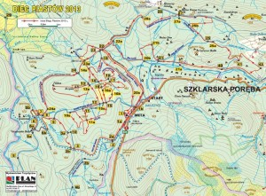 trasa biegu piastów 2013