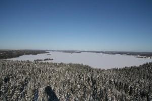 Jezioro w Lahti