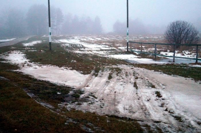 Tak trasa Tartu Maratonu wyglądała przed dwoma laty, kiedy zawody odwołano. Obecnie jest niewiele lepiej.