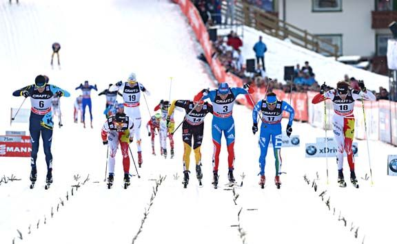 FIS world cup cross-country, tour de ski, mass men, Val di Fiemme (ITA)