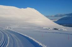 Fossavatn Ski Marathon odbywa się na początku maja na Islandii.