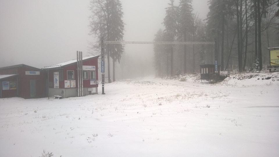 Bodenmais pierwszy śnieg