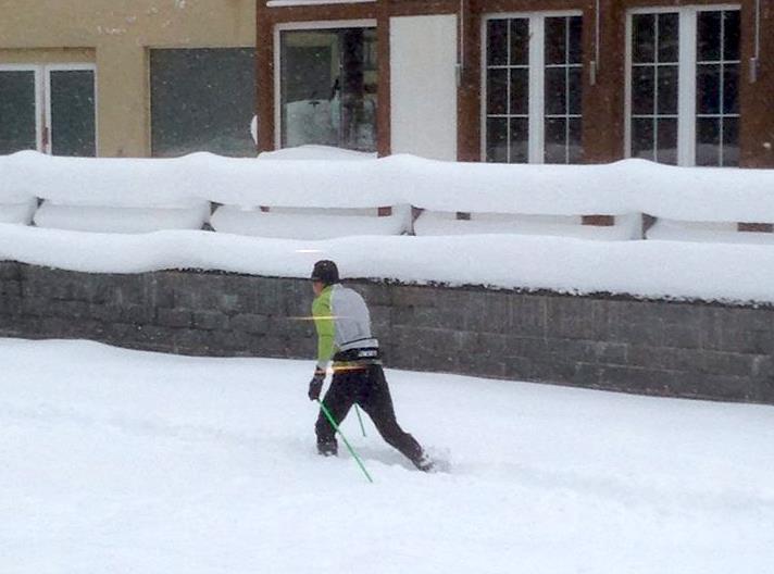 W Alpach zima na całego