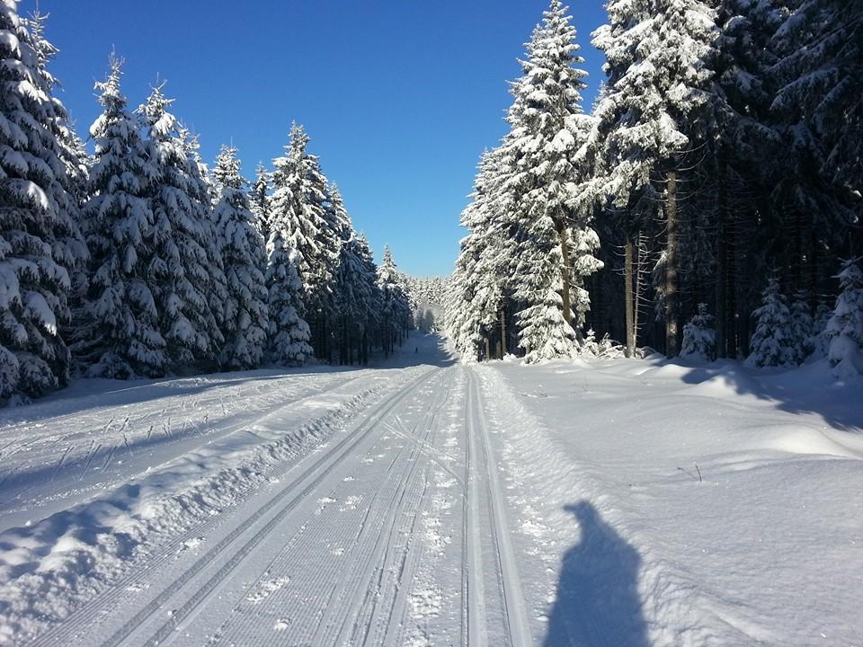 kammlauf zima trasa śnieg