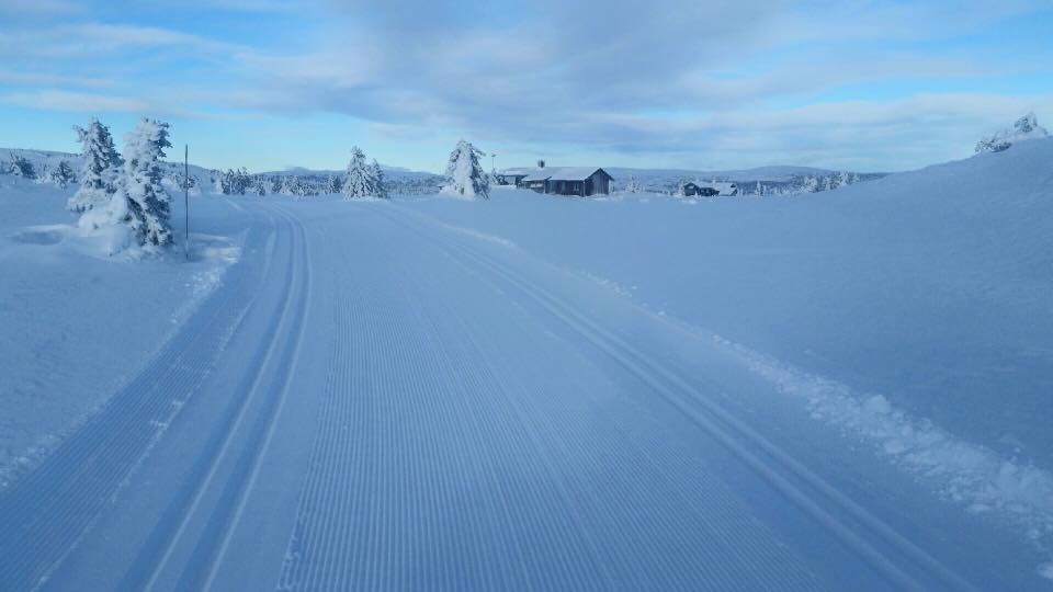 sjusjoen 2016 trasa śnieg
