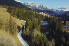 trasa Marcialonga sztuczny śnieg