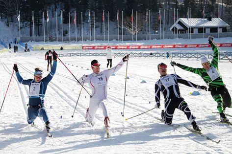 Finlandia Hiihto finish 42 km Cl