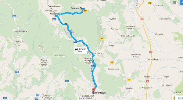 Trasa nartorolkowego mini-maratonu będzie wiodła z Niemojowa do Spalonej.